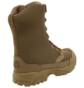 """Zip up hunting boots 8"""" brown outer heel altai Gear"""