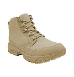 """Zip up work boots 6"""" tan outer toe altai Gear"""