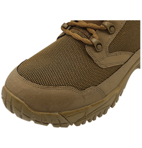"""Backpacking Boots Brown 6"""" toe view Altai gear"""