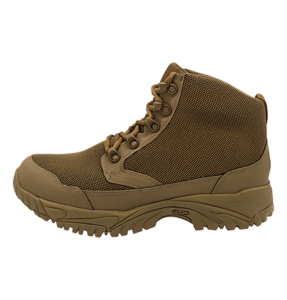 """Backpacking Boots Brown 6"""" outer side view Altai gear"""