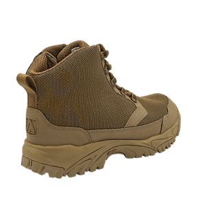 """Zip up hiking boots 6"""" Brown outer heel altai Gear"""