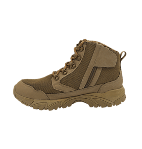 """Zip up hiking boots 6"""" Brown inner side with zipper altai Gear"""