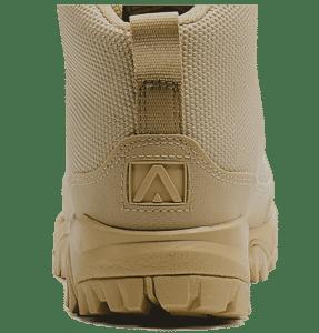 "Work Boots tan 6"" heel logo Altai gear"