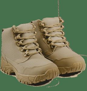 """Work Boots tan 6"""" pair Altai gear"""