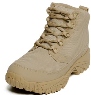 """Work Boots tan 6"""" outer toe Altai gear"""