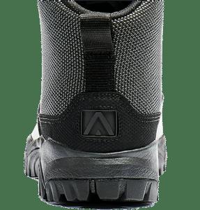 Uniform Boots Black leather heel logo Altai gear