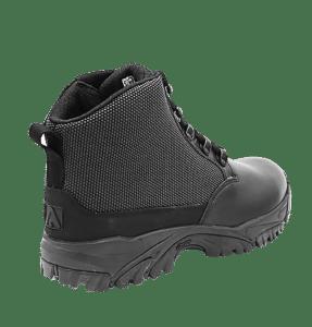 "Black side zip uniform boots 6"" outer heel Altai gear"