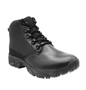 """Black side zip uniform boots 6"""" outer toe with leather Altai gear"""