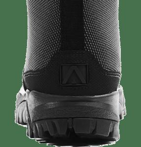 """Side Zip black tactical boots 8"""" black heel logo altai Gear"""