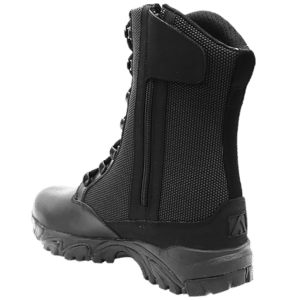 "Side Zip black tactical boots 8"" inner heel with zipper altai Gear"