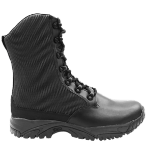 "Side Zip black tactical boots 8"" black outer side altai Gear"