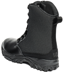 Leather Tactical Boots outer heel Altai gear
