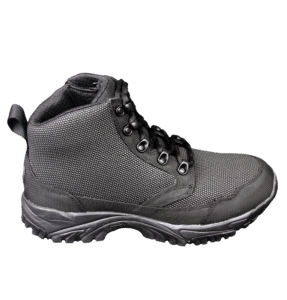 """Black Zip up tactical boots 6"""" outer side altai Gear"""