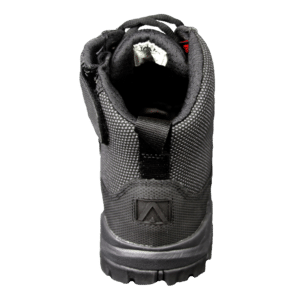 """Black Zip up tactical boots 6"""" heel altai Gear"""