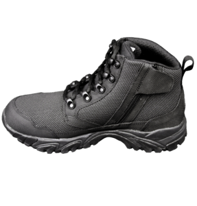 """Black Zip up tactical boots 6"""" inner side with zipper altai Gear"""