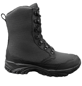 "Zip up tactical boots 8"" black outer side altai Gear"