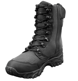 "Zip up tactical boots 8"" black inner toe altai Gear"