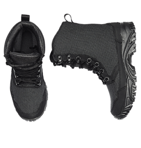 Tactical Boots Black Top view Altai gear