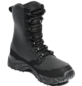 Tactical Boots Black inner toe view Altai
