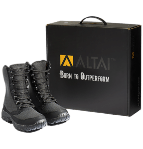 Tactical Boots Black and box Altai