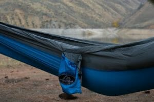 Beluga Madera Hammocks Grey and blue pocket
