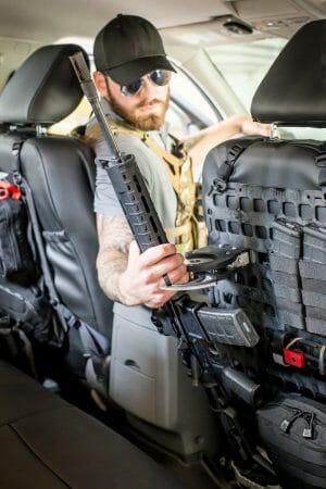 Tactical Vehicle Molle panel