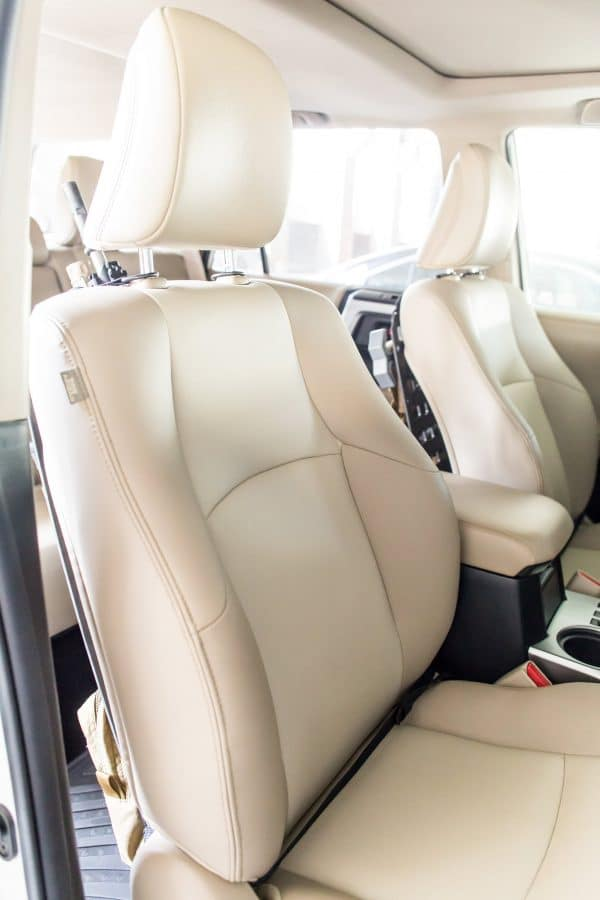 Push Button D-Ring RMP Straps [Headrest Post] front of seat