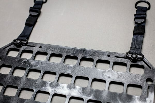 Push Button D-Ring RMP Straps [Headrest Post] top of panel