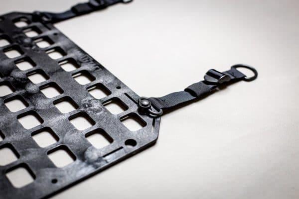 Push Button D-Ring RMP Straps [Headrest Post] up close